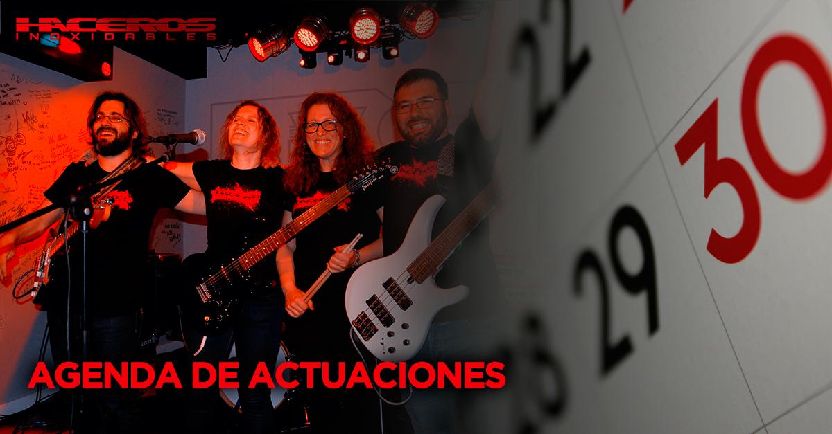 AGENDA DE ACTUACIONES