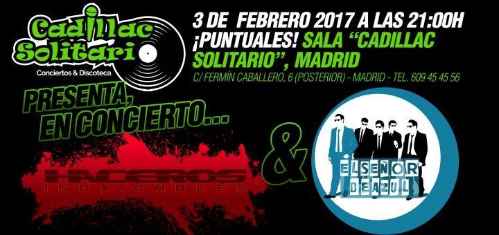 Haceros Inoxidables en la sala Cadilla Colitario de Madrid