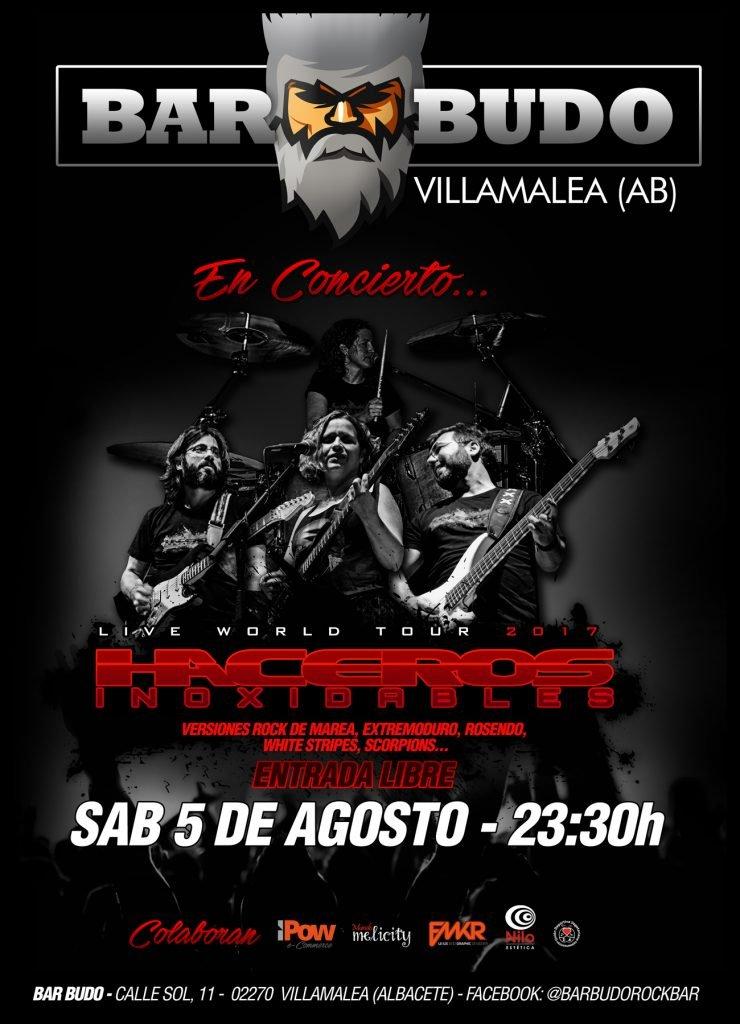 Haceros de nuevo en Villamalea en Bar Budo el Sábado 5 de Agosto