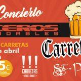 Haceros Inoxidables en concierto el el I carretasfest - 6 de Abril 2018