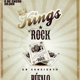 Kings of Rock - Noche de Reyes en Clandestino con Búfalo Southern Rock, Haceros Inoxidables y Malasombra