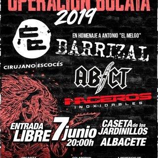 Haceros inocidables ne la Operación Bocata 2019