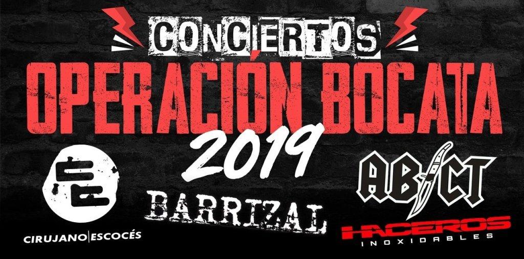 Haceros inoxidables en la Operación Bocata 2019
